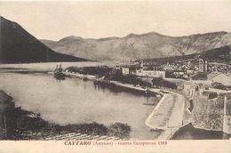 Pays Div -ref J990- Montenegro - Kotor - Cattaro - Précisé Sur La Carte Autriche - Guerre 1914-18 - - Montenegro