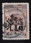538c :  Série Maçonnique (O)  Du TEMPLE De Tégucigalpa (Honduras). Timbre Principal Surchargé L 0,40. - Freemasonry
