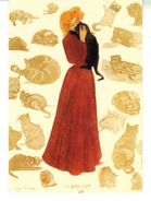 CPM - A La Gloire Du Chat.  Gravure Coloriée Par HENRY DETOUCHE  XIXème Siècle - Chats