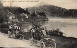74 Village De DUINGT Et Le Château (Voitures) - Duingt