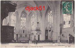 89 - SEIGNELAY (Yonne) - Intérieur De L'eglise - 1912 - Seignelay