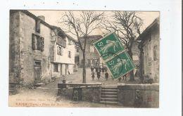 VAOUR (TARN) PLACE DES ACACIAS (ENFANTS) 1911 - Vaour