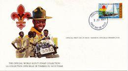 GHANA - 1982 75TH ANNIVERSARY OF SCOUTING  FDC1724 - Padvinderij