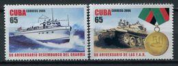 Cuba 2006 / Military Ship & Tank Gramma MNH Barco Tanque Bateaux Schiffe / Cu6014  C1 - Schiffe