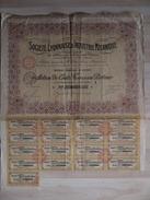 TITRE SOCIETE LYONNAISE D INDUSTRIE MECANIQUE  1919 - Industrie