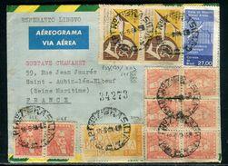 Brésil - Aérogramme De Brasillia Pour La France En 1964 - Ref D218 - Cartas