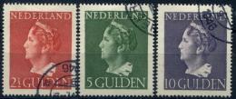 Lot N°6565 Pays-Bas N°443/45 Oblitéré TB - Period 1891-1948 (Wilhelmina)