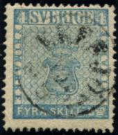 Lot N°6652 Suède N°2a Oblitéré TB - Suède
