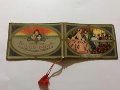 Calendarietto Barbiere Le Maschere Super Iride Benelli 1928 - Calendriers