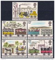 Gran Bretaña  926/930 ** MNH. 1980 - 1952-.... (Elizabeth II)