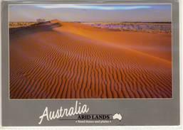 ARID LANDS AUSTRALIA SAND DUNES AND PLAINS  LARGE FORMAT NICE STAMP - Australia