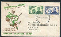 Nouvelle Zélande - Enveloppe  Souvenir De Wellington Pour Londres En 1944 - Ref D237 - 1907-1947 Dominion