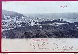 "CPA 1906  ITALIE ONEGLIA ""PANORAMA GENERALE"" N°2792 - Italie"