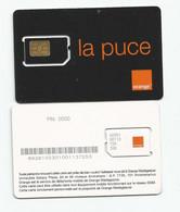 Madagascar Malagasy RARE NOIRE  Carte SIM NEUVE  /  SCARCE BLACK  NEW SIM Card ORANGE MADAGASCAR - Madagascar