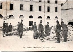 Manoeuvre Du 11ème Régiment D'artillerie (1906) - Maniobras