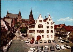 ! Ansichtskarte Aus Oppenheim Am Rhein, Rathaus, Autos, VW, Citroen 2 CV - Voitures De Tourisme