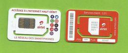 Madagascar Malagasy Carte SIM NEUVE AIRTEL 4G  /  NEW AIRTEL 4G SIM Card ORANGE MONEY  MADAGASCAR - Madagascar