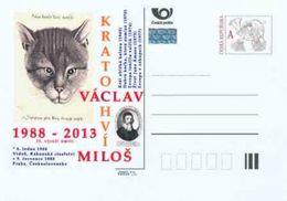 Tschech. Rep. / Ganzsachen (Pre2013/33) Milos V. Kratochvil (1904-1988); Gravierung Von Wenzel Hollar, J. A. Comenius - Sprachen