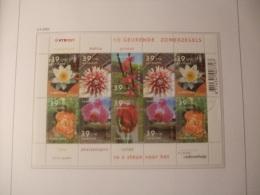 Netherlands, Nederland, Used 2001  V2077-2082 Zomerzegels Bloemen - Gebraucht