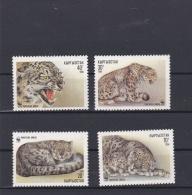 Kirgisistan 1994 WWF Four Stamps MNH/**   (H34) - W.W.F.