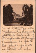 ! 1937 Belgium, Belgien, Belgique, Adel, Royalty, Chateau De Evergem, Schloss - Evergem