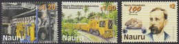 Nauru 2000 Yvertn° 463-465  *** MNH Cote 11 Euro Transport Divers Phosphates - Nauru