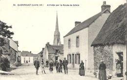44  GUENROUET   ARRIVEE PAR  LA  ROUTE   DE  GRACE - Guenrouet
