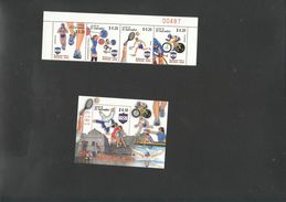Olympics 2008 Salvador Set + S/S  MNH - Summer 2008: Beijing