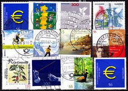 BRD Lot Gestempelt (3) - Briefmarken