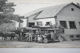 CPA Aube 10 Camp De Mailly Commission Des Ordinaires Camions De Livraison Hypomobile Ou Automobile Ed Nieps - Mailly-le-Camp
