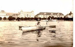 Lucerne Luzern -Carte Photo - Eclaireurs - Scouts - Kayak - Canoë - Padvinderij