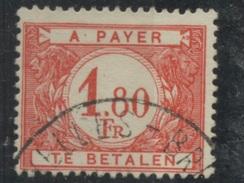 1 F80  Taxe De Belgique N°  58  Bien Oblitéré - Stamps