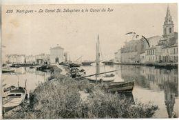 13. Martigues. Le Canal St Sebastien Et Le Canal Du Roi - Martigues