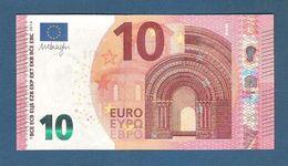 EURO - FRANCIA - 2014 - BANCONOTA DA 10 EURO SERIE UB (U004C2) DRAGHI - NON CIRCOLATA (FDS-UNC) - IN OTTIME CONDIZIONI. - EURO