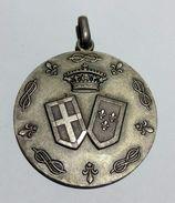 Medaglia MATRIMONIO Di EUGENIO Di Savoia E LUCIA Di Borbone (1938) Argento / 38mm - Monarchia/ Nobiltà