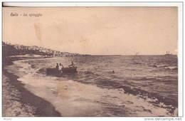 Caltanissetta 8-Gela-Sicilia-Lido Balneare-Spiaggia-Lido Beach-Côte-Bathing Beach-Shore-v.1935 X Avola - Caltanissetta