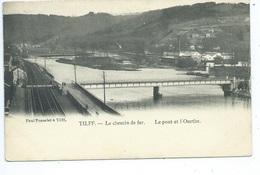 Tilff Chemin De Fer Le Pont Et L'Ourthe - Esneux