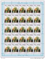 Mauritanie 0621** - Parasites Des Cultures - Full Sheet De 25 -Dessin De Buzin -MNH - - Mauritanie (1960-...)
