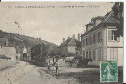 CPA  - Corvol L' Orgueilleux  - La Mairie Et La Poste - Altri Comuni