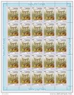 Mauritanie 0616** - Parasites Des Cultures - Full Sheet De 25 -Dessin De Buzin -MNH - - Mauritanie (1960-...)