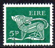 Ireland 1968-70 Gerl Sterling Definitives, 5d Value, Used, SG 252 - Usati