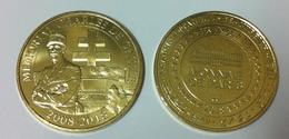 52 HAUTE MARNE COLOMBEY 2 ÉGLISES DE CHARLES DE GAULLE N°6 2008 - 2018 MÉDAILLE MONNAIE DE PARIS JETON TOKEN MEDALS COIN - Monnaie De Paris