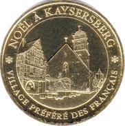 68 KAYSERSBERG NOËL VILLAGE PRÉFÉRÉ DES FRANÇAIS MÉDAILLE MONNAIE DE PARIS 2018 JETON TOKEN MEDALS COINS - Monnaie De Paris