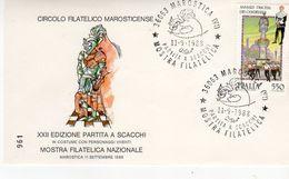 Marostica (VI) - 1988 - XXII Edizione Partita A Scacchi In Costume Con Personaggi Viventi - - Scacchi