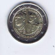 Lussemburgo - 2 Euro Commemorativo 2017 - Guglielmo III - Lussemburgo