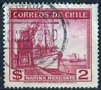 '40 Years Chile 2 Dollars Stamp, UH, Ships Issue, Price 1.1 Euro - Bateaux