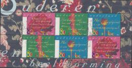 Nederland - Zomerzegels 1997 - Rozenknop/Bloeiende Roos/Stengel Met Doornen - Gebruikt/used/gebraucht - NVPH 1719 - Bloks