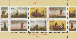 Nederland - Kinderzegels 1997 - Sprookjes:Roodkapje/Klein Duimpje/Geest In De Fles - Gebruikt/used/gebraucht - NVPH 1739 - Gebraucht