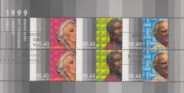 Nederland - Ouderenzegels 1999 - Gebruikt/used/gebraucht -NVPH 1821 - Bloks