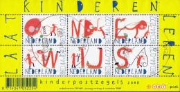 Nederland - Kinderzegels 2008 - Onderwijs - Laat Kinderen Leren - Gebruikt/used/gebraucht - NVPH 2608 - Periode 1980-... (Beatrix)